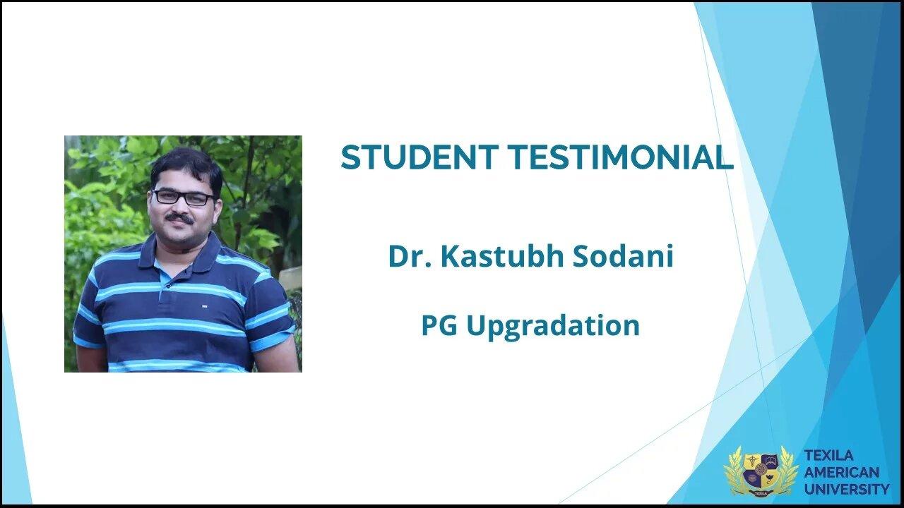 Kodsani success student of PG medicine