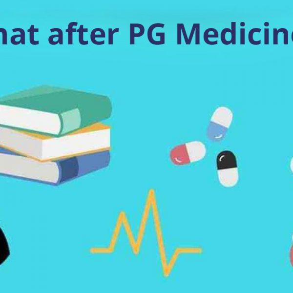 What after PG medicine
