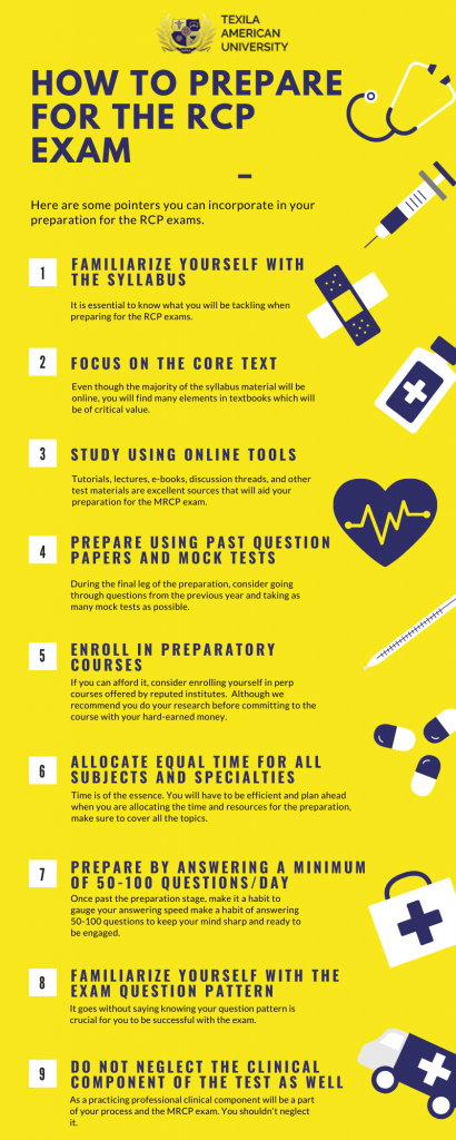 How to Prepare for the RCP Exam