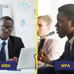 difference between MPA and MBA