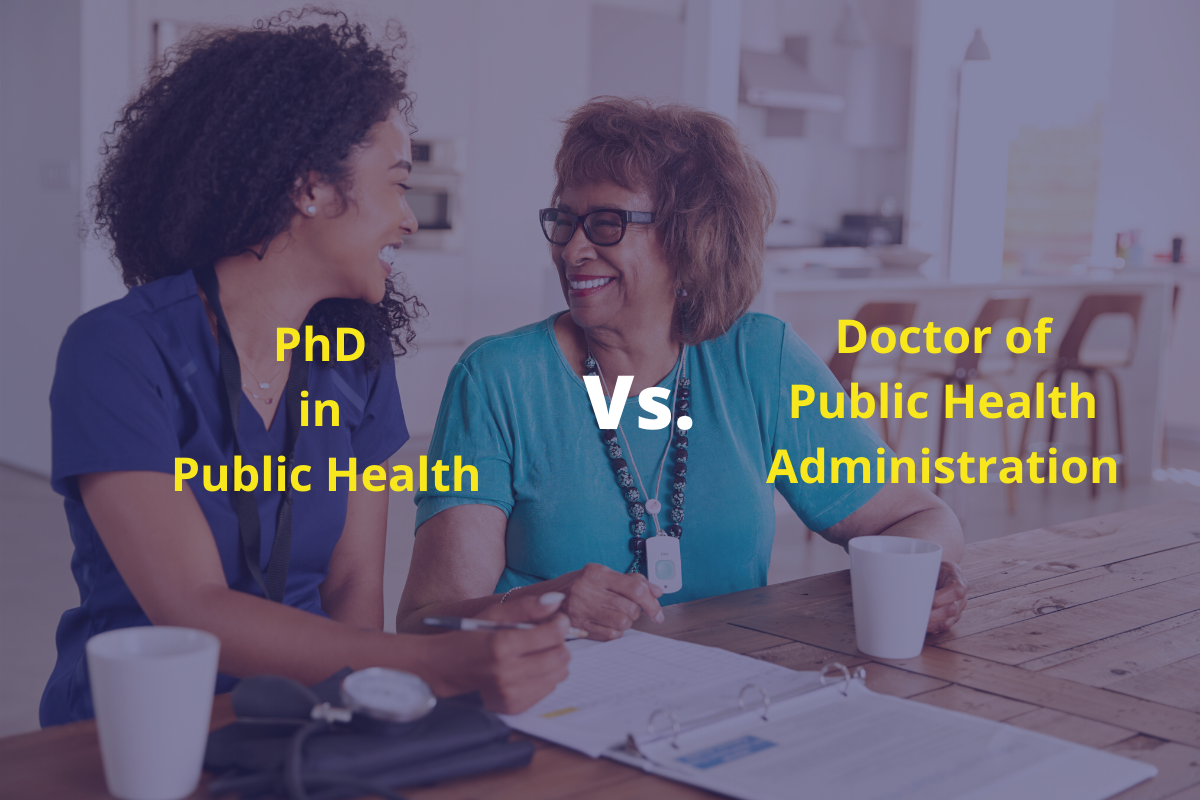 Difference Between a PhD in Public Health and a DPHA Degrees