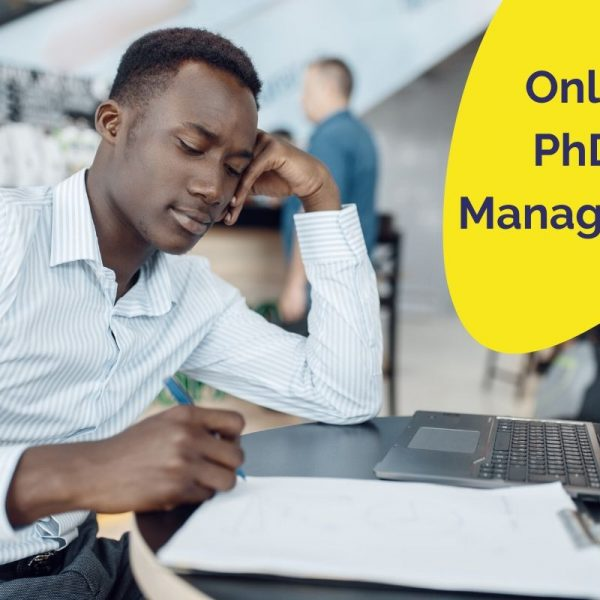 PhD in Management online degree