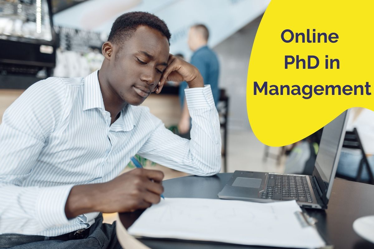 PhD in Management online degree