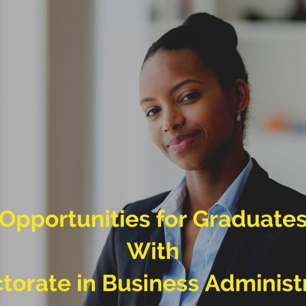 Jobs with Doctorate in business administration degree