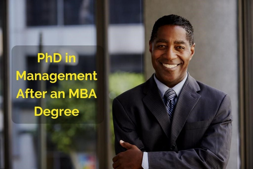 Is It Necessary to Get a PhD After MBA