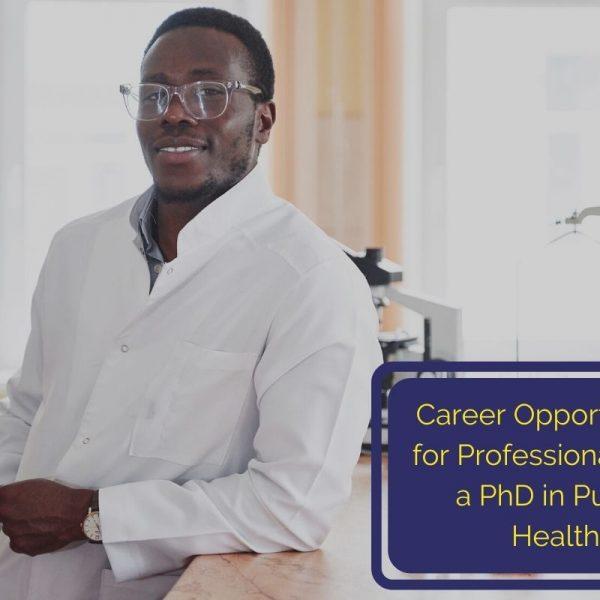 online PhD in public health