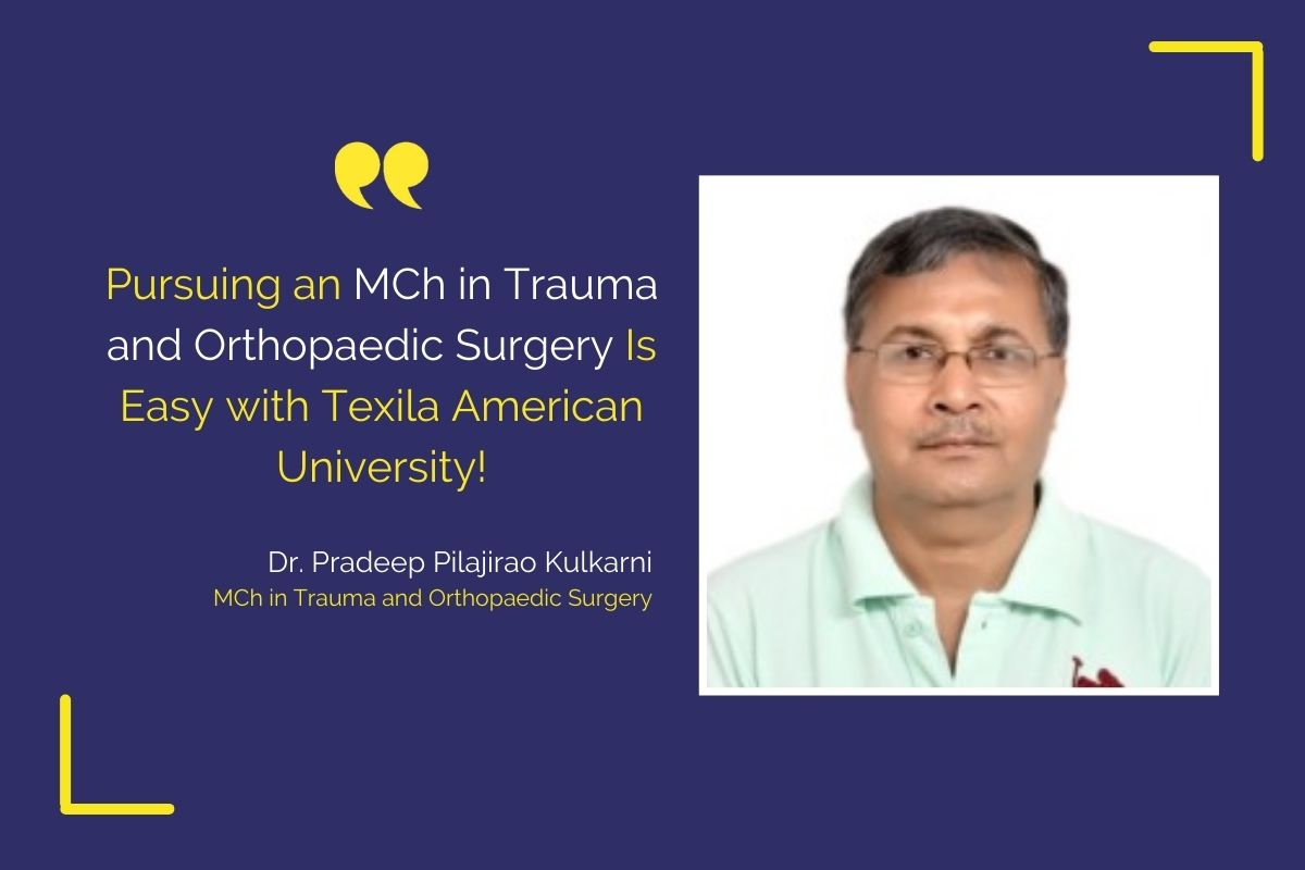 Dr. Kulkarni Pradeep Pilajirao, MCH-Trauma and Orthopaedic Surgery