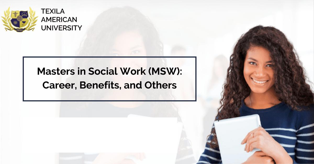 MSW Social Work career