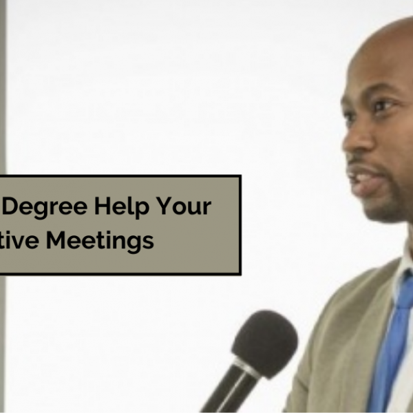 How an MBA Degree Help Your Lead Productive Meetings