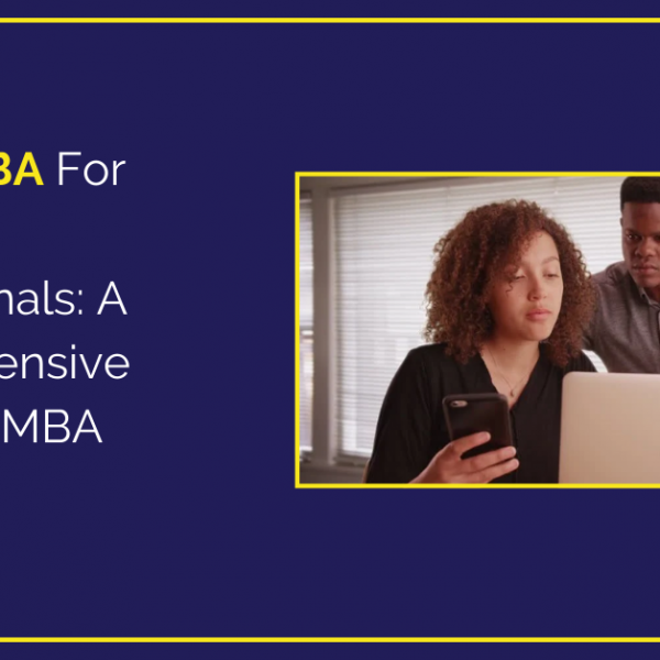 Online MBA For Working Professionals