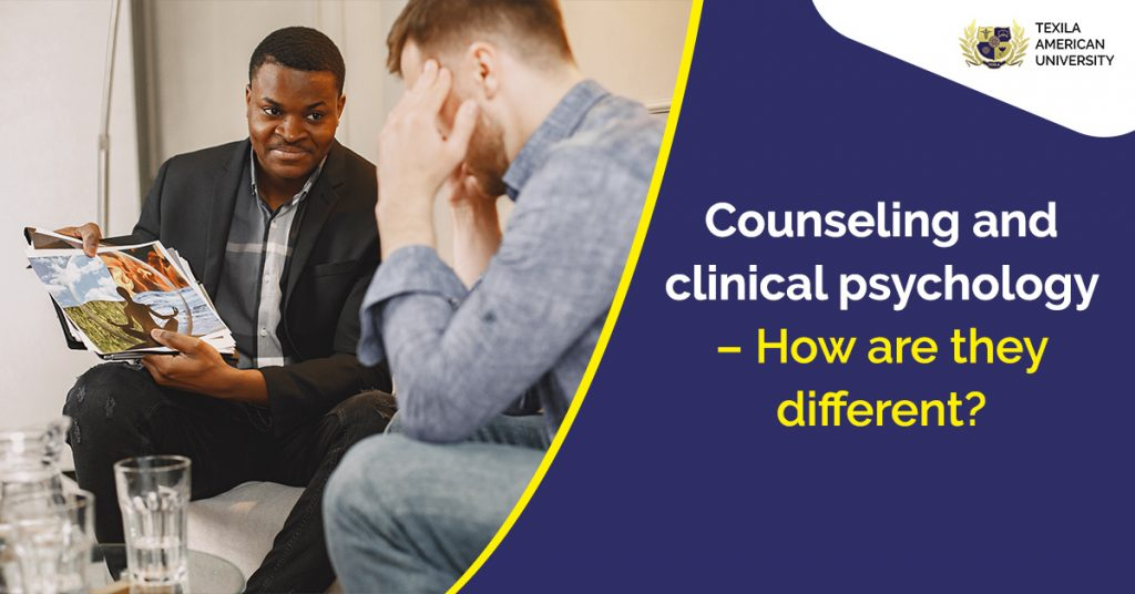 Counseling and clinical psychology