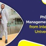 PhD in Management Program from International Universities