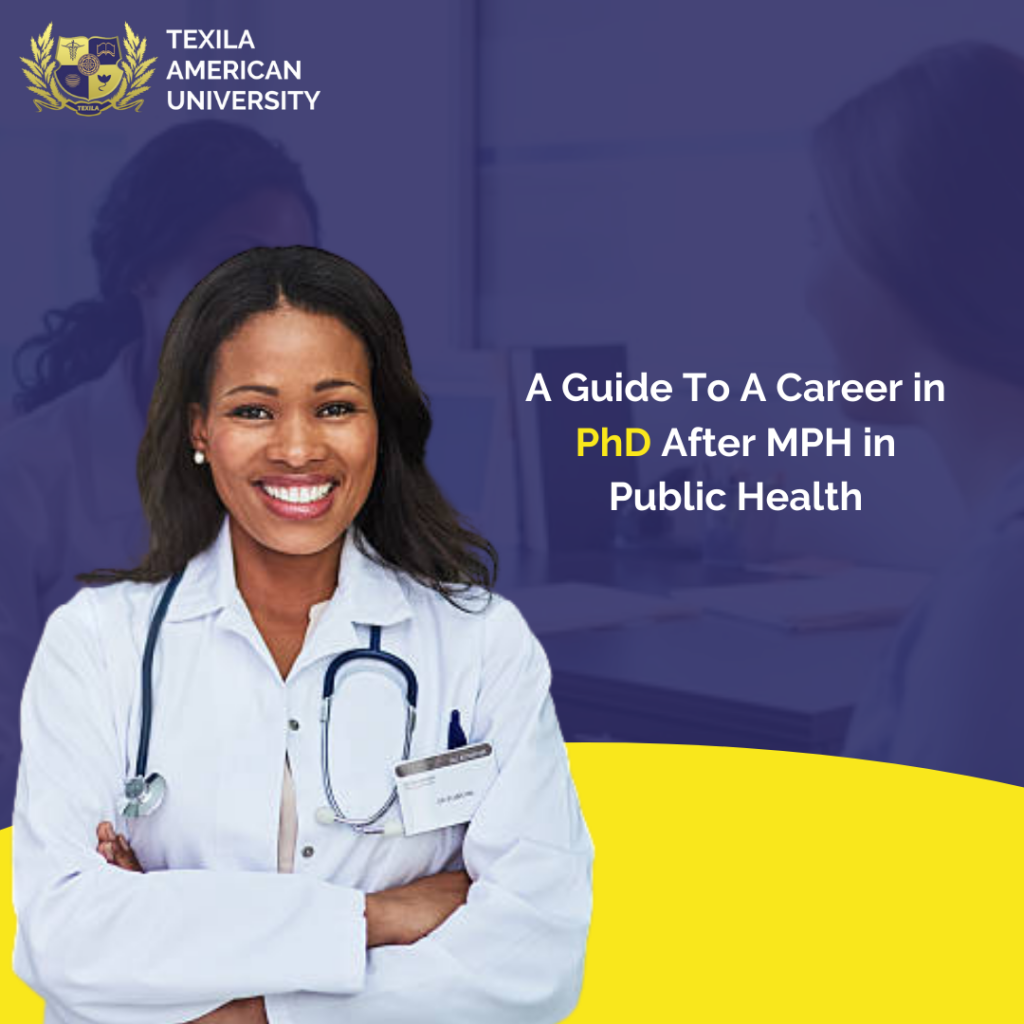 PhD After MPH in Public Health