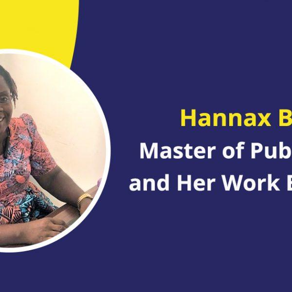 hannax barlue MPH success